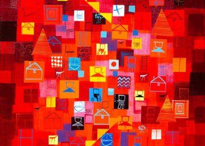 6_In the redgarden_60x60 cm