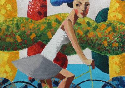 11_Biking 4 30 x 30 cm