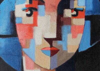 13_Head 1 41 x 33 cm