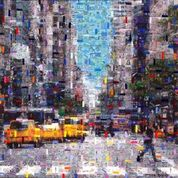 16_Cars New York_50x50 cm