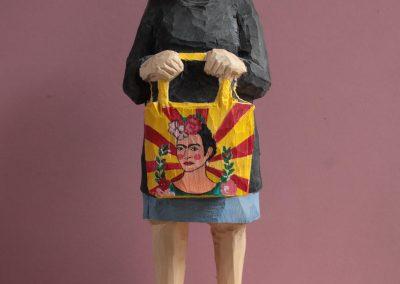 Edeka Nr. 1300 Nonne mit Frida Kahlo Tasche