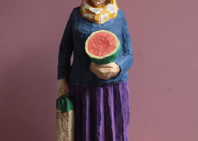 Edeka Nr. 1311 Muslima mit Melone