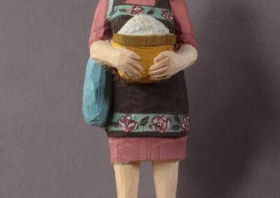 Edekafrau mit Nudeln_Nr.1422