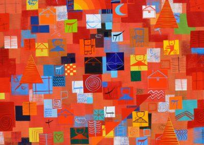 Iliya Zhelev_Tree hill 50x50 cm
