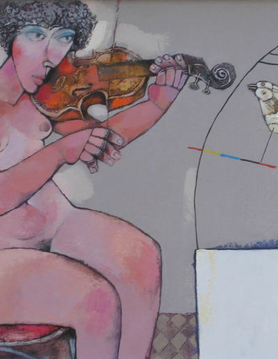 Krastyo Todorov_Woman-with-violin 60x70 frei
