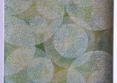 (Plexiglasbild) Green Bubbles