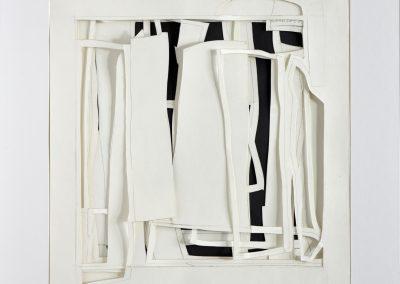 Schichtung 29_30x30cm_Papiercollage_2017