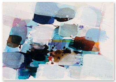 Traumfunkel, 2016, 70 x 50 cm, Acryl auf LW