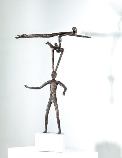 Vertrauen (Stahl, Bronze)