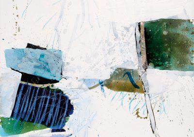Aan de waterplas_2014_Acryl auf LW_90x90 cm_2800 Euro
