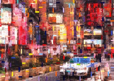 14_Cars New York-50x50 cm