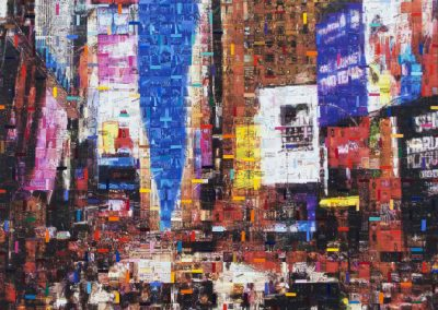 23_Times Square early afternoon 80x80 cm