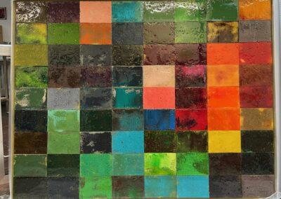 Mosaik 1605_2021_100x128x5 cm
